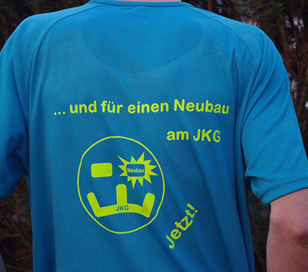 T-Shirt Erweiterungsbau JKG 2