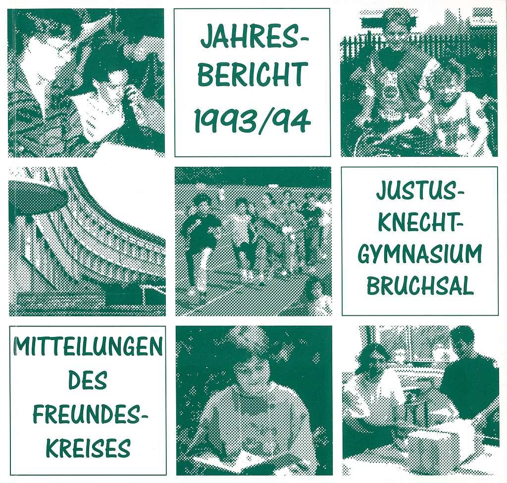 Jahresbericht 1993/94