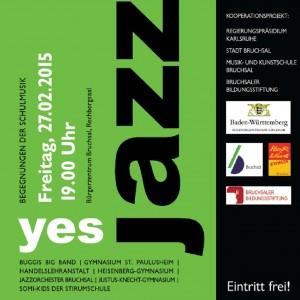 Plakat Yes Jazz! 2015