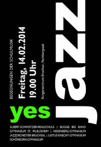 Plakat Yes Jazz! 2014