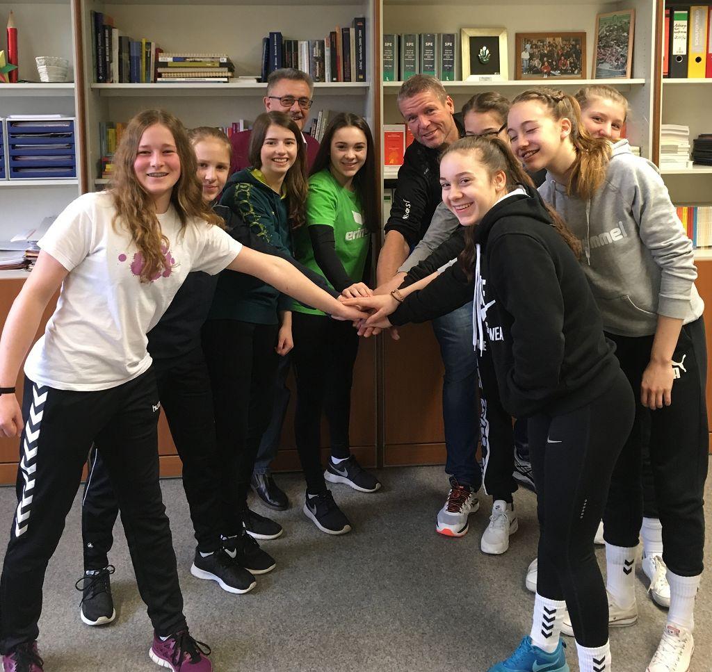 Jugend trainiert für Olympia 2017 Handball