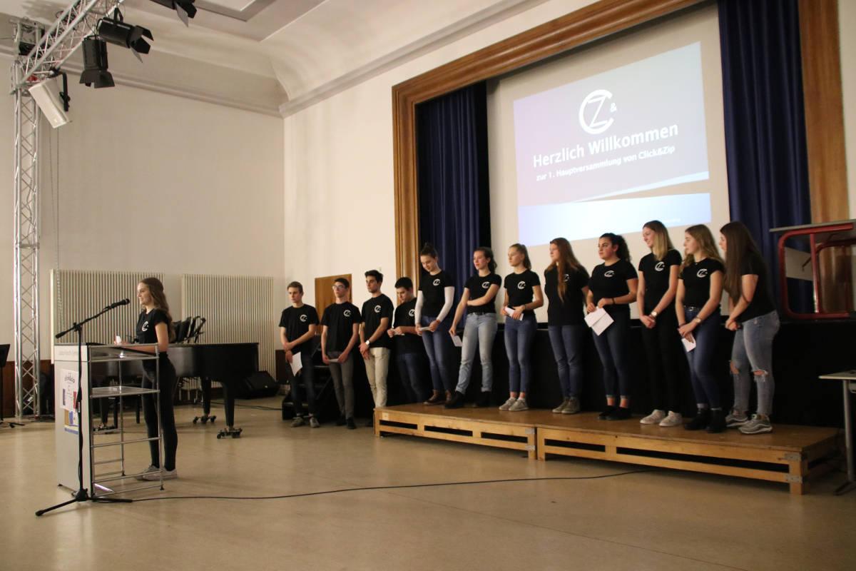 Hauptversammlung Schülerfirmen