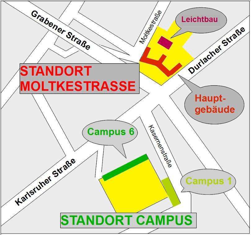 Skizze Standorte
